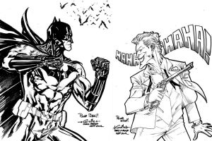 Batman VS The Joker - Paris Manga SciFi Show by SpiderGuile