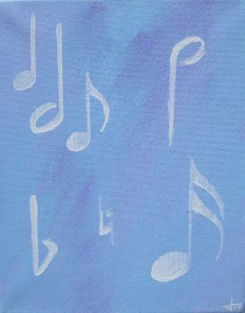 When Only Ghosts Inspire Our Songs by inkedacrylic