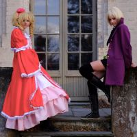 Elizabeth and Alois Cosplay by GuffyFace