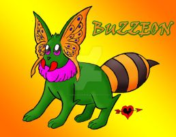 Buzzeon - Bug Type Eeveelution by JamalPokemon