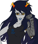 Vriska WIP by QuantumDrill