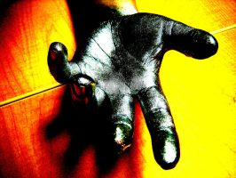 Metal Hand by WhitStar
