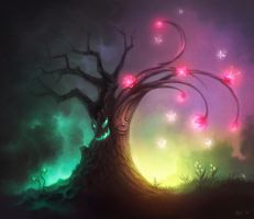 The Tree of Dreams by Leffsha