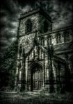 STOCK: Spooky/gothic chapel in HDR by needanewname