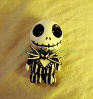 Jack Skellington Chibi by KeiraRayn