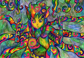 More Psychedelic-ness by AliRose-Art