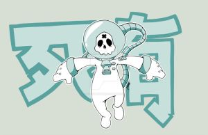 be death spaceman design by DepartmentM
