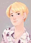 Blonde Jimin by Uxia15