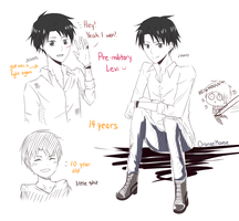 Young!Levi sketches by OrangeMouse
