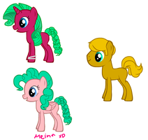 Fillies and Colt from Breeders by woodsybirds