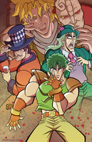 Joey JoJo and the Bloody Phantoms by TheSteveYurko