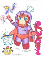 Chibi Magneto by TipsyReturns
