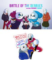 UT::US::SF::UF::BATTLE OF THE BERRIES Cover by SpaceJacket