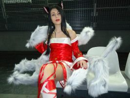 Ahri Cosplay I by Aleeusha