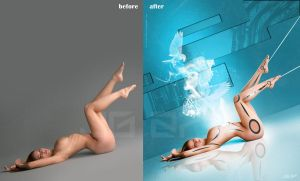 the power of the soul before - after by johngiannis27