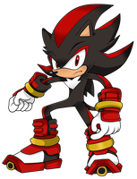 Shadow the Hedgehog (Sonic Boom) by Waito-chan
