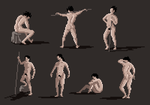 Pixel Figure Drawings, 2014-05-20 by zacharyknoles