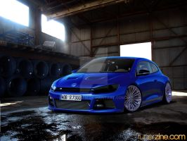 Volkswagen Scirocco Tuned by degraafm