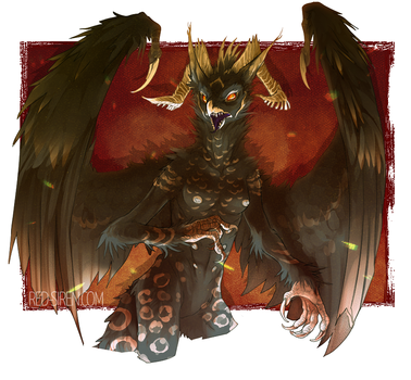 commission for onom by CrowFangs