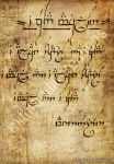 An Elvish text by Mithrandir29