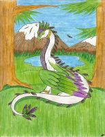Aria- Dragon of Grace by AnimePeep33