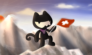 Monstercat in the Alps by Falcotte