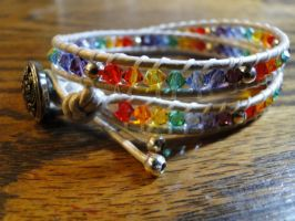 2 wrap bracelet by sevenwillow