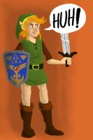 A link to the past Link by Amaliavs