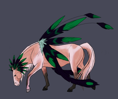 Daily OTA adopt #26 Horse -CLOSED- by Chippie18-Adoptables