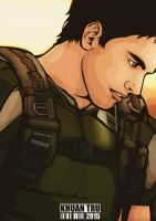 Chris Redfield 1 by KHUANTRU