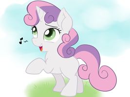 Sweetie Belle by Pon3Splash