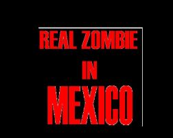 Real Zombie in Mexico by Giosuke