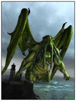 13-10-15 Cthulhu by aldemps