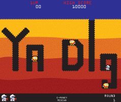 Dig Dug by mexicanpryde2000