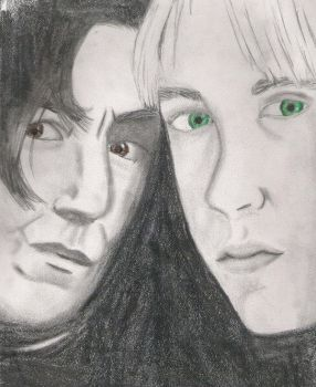 Snape and Draco by Severus-Snape-Club
