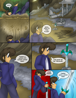 Another Sword, Another Stone p2 by AkuOreo