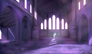 Lavender Cathedral by Raycchan
