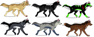 Musical Adopts 8 by MonsoonWolf