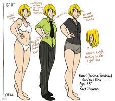 Riss Bernhard Ref by MagicalZombie