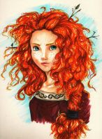 Merida by peevelmouse