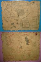 Middle Earth Maps by willowehealer