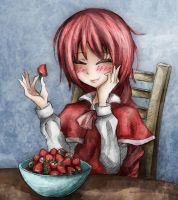 Strawberry Smile by Ray-kbys