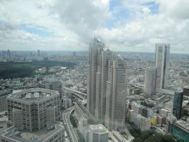 Aerial View of Tokyo 8 by SuperAwesomeStock