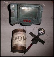 Props for the fallout3 cosplay by SoraQuasar