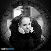 In the Tube by Robbanmurray