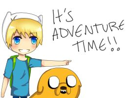 It's Adventure Time! by animeloverFTW