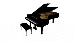 Playable Grand Piano by Sector7A