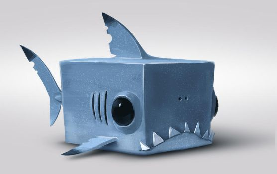 sharkCube by RomainFlamand