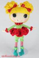 LALALOOPSY Holly Sleighbells Amigurumi Doll by Npantz22