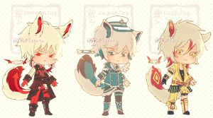 Auction : Ringling Species Set 3 [CLOSED] by HyRei